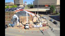 Pat Summitt Plaza Construction Time-lapse