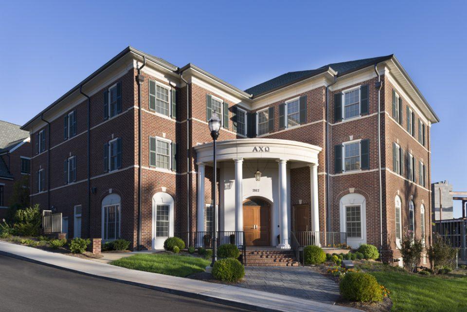 Merit Construction University Of Tennessee Alpha Chi